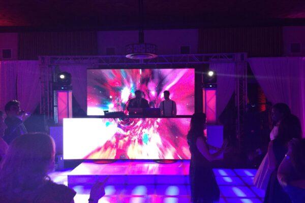 Firmafest Med LED AV- WhiteWeddingDJ